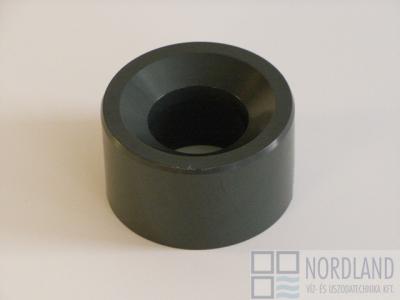 Szűkítő, rövid d90/75 PN16 PVC