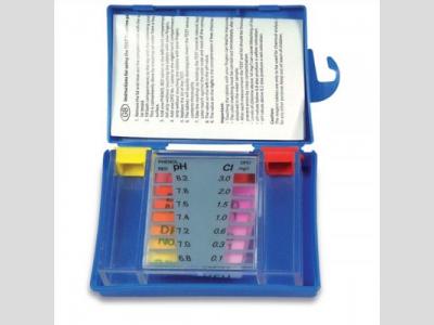 Klór és pH mérő, DPD tablettás C típus