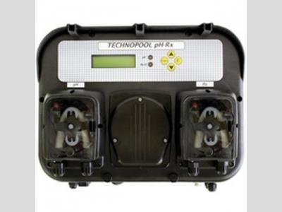 pH/redox mérő és adagoló Technopool adagoló panelen, komplett