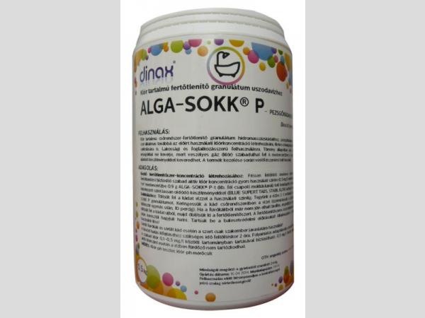 Alga Sokk P 0,5 kg klór tart. granulátum 55%