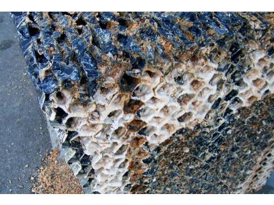 Vízkőlerakódás ipari méretekben (Likócs)